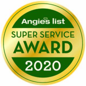 Angies List Super Service Award recipient 2020